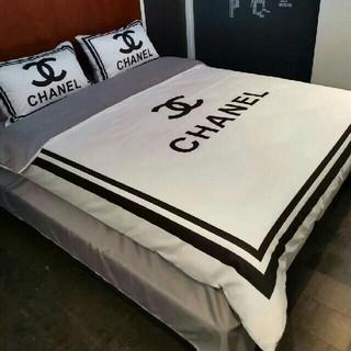 シャネル(CHANEL)の寝具カバーセット 掛け布団カバーベッドシーツ(布団)