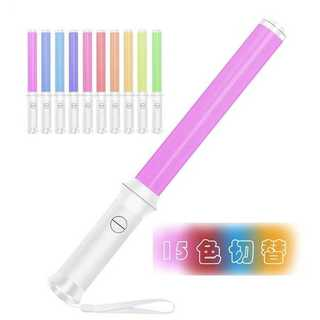 ロングタイプ LEDペンライト 15色 コンサートライト 1本 b44(ペンライト)