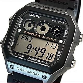 CASIO カシオ サッカー 審判4点セット ホイッスル カード スコアカード(腕時計(デジタル))