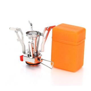 ☆処分セール☆ジュニアバーナー 小型折りたたみ式 ミニガスバーナー(調理器具)