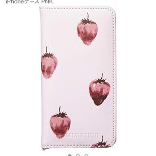 ジェラートピケ(gelato pique)の♡新品 ジェラートピケ ストロベリー iPhoneケース♡(iPhoneケース)