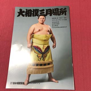 大相撲大阪場所パンフレット(相撲/武道)
