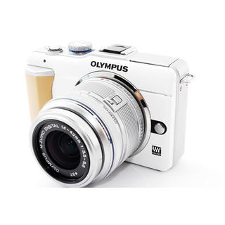 OLYMPUS - ☆カメラ初心者おすすめ♪WiFiカード付き☆オリンパス E-PL1 ホワイト