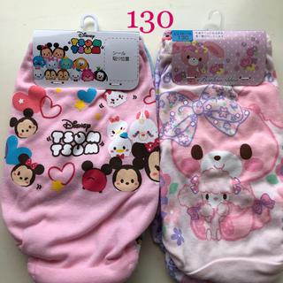 ディズニー(Disney)の女児 ショーツ パンツ  130  4枚セット(下着)