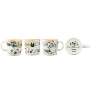 アラビア(ARABIA)のムーミンバレーパーク限定マグカップ (グラス/カップ)