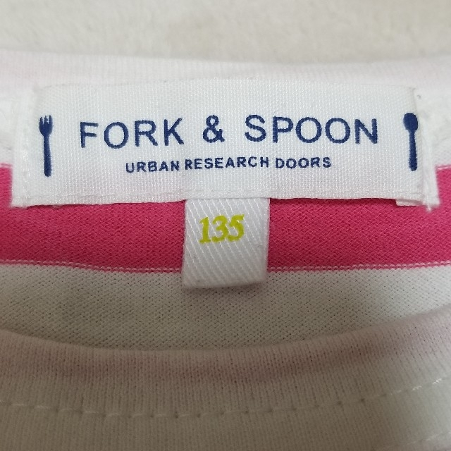 DOORS / URBAN RESEARCH(ドアーズ)のFORK&SPOON URBAN RESEARCH DOORS 長袖Tシャツ キッズ/ベビー/マタニティのキッズ服 女の子用(90cm~)(Tシャツ/カットソー)の商品写真