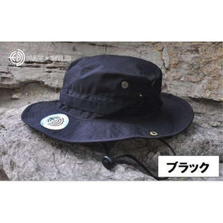 ブラック メンズ レディース 黒 帽子 2WAY テンガロン ブーニー ハット(ハット)