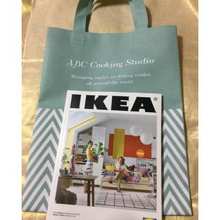 イケア(IKEA)のIKEAカタログとSBCクッキングスタジオエコバッグセット(エコバッグ)
