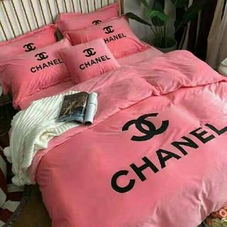 シャネル(CHANEL)のシャネル ベッドシーツ Chanel カバー 寝具 布団(布団)