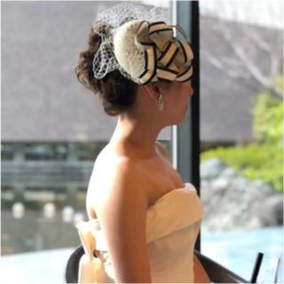 ヘッドドレス ウェディング ブライダル(ヘッドドレス/ドレス)