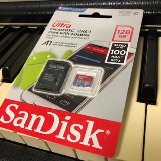 サンディスク(SanDisk)のSandisk製 128GB SDカード SDXC(PC周辺機器)