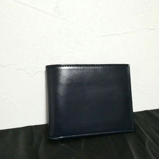 エッティンガー(ETTINGER)の未使用 ETTINGER エッティンガー 折財布 ネイビー(財布)