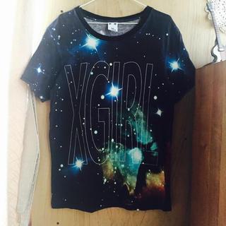 エックスガール(X-girl)のx-girl★ロングTシャツ(Tシャツ(半袖/袖なし))