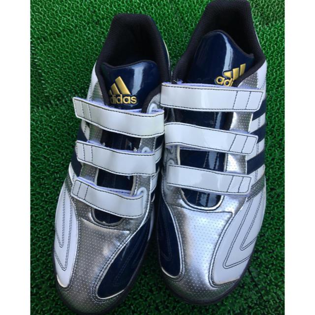 adidas(アディダス)のアディダス野球トレーニングシューズ27.5 【サービス価格本日まで】 スポーツ/アウトドアの野球(シューズ)の商品写真