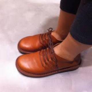 トリッペン(trippen)のまゆまゆ様専用  トリッペン cage(ローファー/革靴)