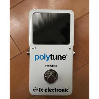 TC ELECTRONIC polytune(エフェクター)