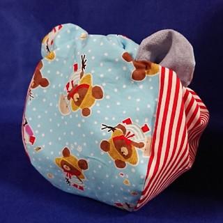 クマノガッコウ(くまのがっこう)のくまのがっこう☆ジャッキー☆ハンドメイド☆お弁当袋(ランチボックス巾着)