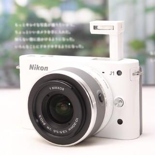 ニコン(Nikon)の❤ミラーレス一眼入門❤可愛い写真は可愛いカメラで♪Nikon 1 J1(ミラーレス一眼)