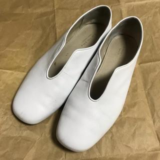 ナノユニバース(nano・universe)の【nano・universe】デザインレザーフラットシューズ(ローファー/革靴)