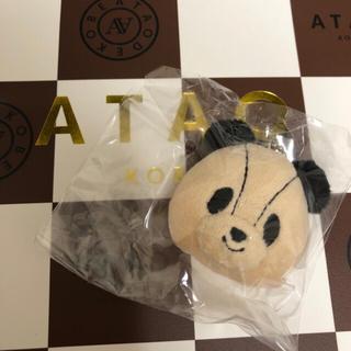 アタオ(ATAO)のアタオランド限定 ♡ アタパン ぬいぐるみチャーム ♡(キーホルダー)
