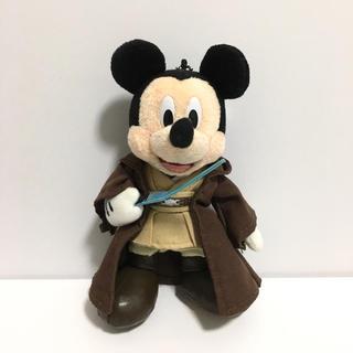 Disney - ぬいバ スターウォーズ ジェダイ ルークミッキー 美品
