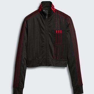 アレキサンダーワン(Alexander Wang)の新品アディダスアレキサンダーワントラックジャケット黒赤S(ブルゾン)