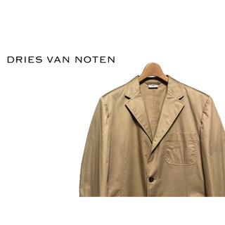 ドリスヴァンノッテン(DRIES VAN NOTEN)のDRIES VAN NOTEN コットンツイル ジャケット / ブレザー(テーラードジャケット)