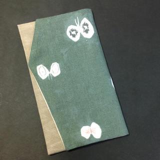 ミナペルホネン(mina perhonen)の袱紗 ふくさ ミナペルホネンhana hane生地を使用のハンドメイド(その他)