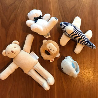 ラルフローレン(Ralph Lauren)のおもちゃ5点セット ラルフローレン トラセリア 赤ちゃんの城(がらがら/ラトル)