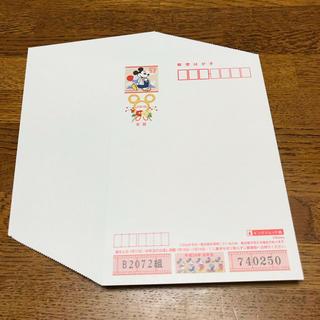 ディズニー(Disney)の未使用ディズニー年賀はがき50枚(切手/官製はがき)
