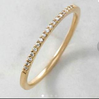 アガット(agete)の値下げ agete k10 エタニティダイヤモンドリング(リング(指輪))