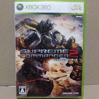 Xbox360 - XBOX360  スプリームコマンダー2