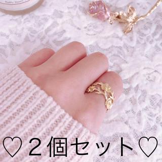 薔薇の指輪 アンティーク(リング)