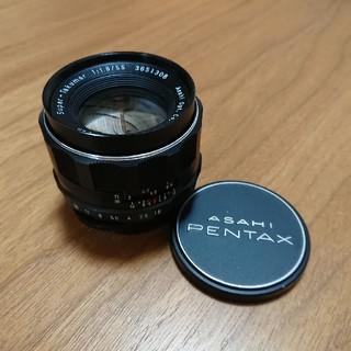 PENTAX - スーパータクマー Super Takumar 55mm f1.8☆状態良好M42