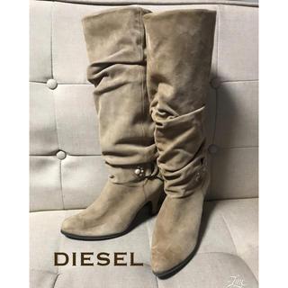 ディーゼル(DIESEL)の▫️DIESEL くしゅくしゅブーツ(ブーツ)