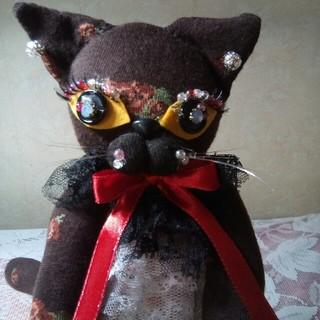 ソックスcat(ΦωΦ) ハンドメイド(ぬいぐるみ)