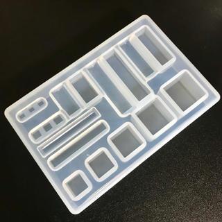 シリコン モールド キューブ&レクタングル(型紙/パターン)