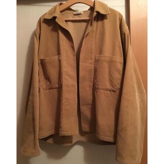 ワンエルディーケーセレクト(1LDK SELECT)のAURALEE オーラリー ウォッシュドコーデュロイシャツジャケット サイズ4(シャツ)