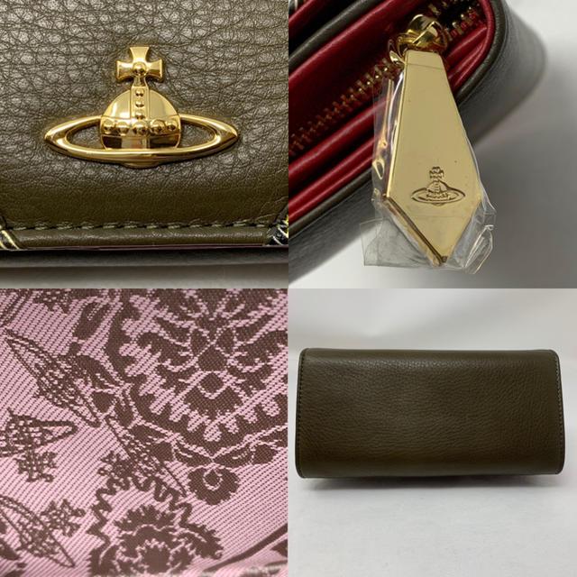 Vivienne Westwood(ヴィヴィアンウエストウッド)の未使用☺︎Vivienne Westwood  長財布 タータンチェック オーブ レディースのファッション小物(財布)の商品写真