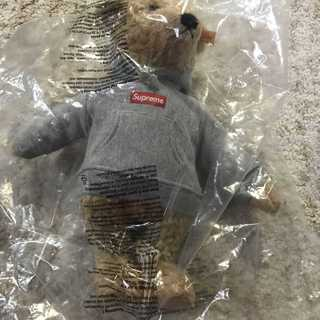 Supreme - Supreme Steiff Bear Boxロゴパーカー  テディベア