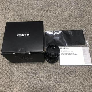 富士フイルム - xf35mm f2 fujifilm