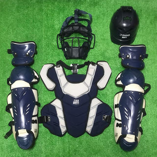 ゼット(ZETT)の一般軟式野球用 キャッチャー プロテクター セット JSBB ゼット ZETT(防具)
