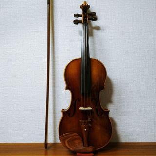 【良杢飾ニス加工】ドイツ製 3/4 E.R.Pretzschner バイオリン(ヴァイオリン)