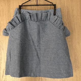 SPINNS - SPINNS チェック柄スカート
