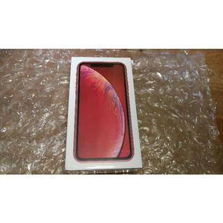 iPhone - Docomo iPhone XR 64Gb レッド