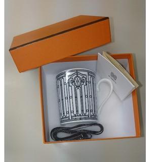 エルメス(Hermes)のHermes H-DECO マグカップ アッシュデコ(グラス/カップ)