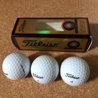 タイトリスト(Titleist)のゴルフボール 3個(その他)