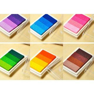 インクスタンプ台 4色×6パターン(印鑑/スタンプ/朱肉)