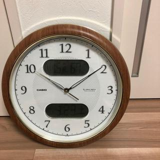 カシオ(CASIO)のたい様CASIO 電波掛け時計(掛時計/柱時計)