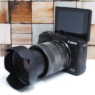 Canon - ★超美品★Wi-Fi転送★Canon M3 レンズセット